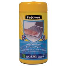 FELLOWES Tisztítókendő, felületek tisztításához, antibakteriális, 75+25 db, FELLOWES tisztító- és takarítószer, higiénia