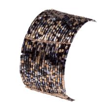 Fényesség gumis karpánt, türkizkék karkötő