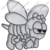 Fényvarázsforma, kicsi méhecske