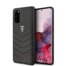 Ferrari tok FEHQUHCS62BK S20 G980 fekete Heritage telefontok tok és táska
