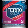Ferro Color 2:1 Oldószeres, Selyemfényű Zománcfesték (Sötét Szürke) - 0,3 L.