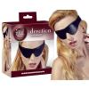 Fetish Collection Bőrhatású szemmaszk - fekete