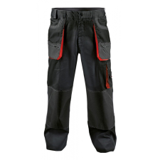 FF BE-01-003 derekas nadrág fekete/piros 50 munkaruha