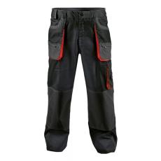 FF BE-01-003 derekas nadrág fekete/piros 56