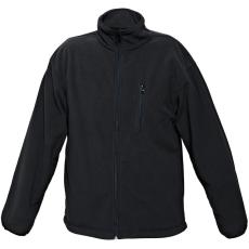 FF BE-02-004 fleece kabát fekete M