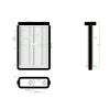 Fiat Doblo 2001.01.01-2005.09.30 Fűtőradiátor MM R (125P)