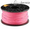 Filament PLA tekercs, 3mm, Rózsaszín (1kg)