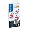 """FILCTOLL készlet, 0,39-0,7 mm, törölhető, PILOT """"Frixion Colors"""", 6 különböző szín (PFCOF6V)"""