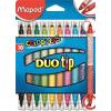 """FILCTOLL készlet, MAPED """"DuoTip"""", 10 különböző szín (IMA849010)"""