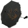 Fillikid univerzális napernyő - pöttyös fekete