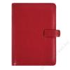 FILOFAX Kalendárium, gyűrűs, betétlapokkal, A5, FILOFAX Metropol, piros (NFX026972)