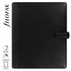 """FILOFAX Kalendárium, gyűrűs, betétlapokkal, A5 méret, , """"Nappa"""", fekete"""