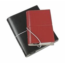 """FILOFAX """"Domino"""" pocket méretű gyűrűskalendárium betétlapokkal, fekete naptár, kalendárium"""