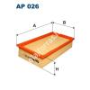 Filtron AP026 Filtron levegőszűrő