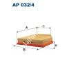 Filtron AP032/4 Filtron levegőszűrő