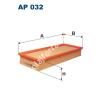 Filtron AP032 Filtron levegőszűrő