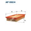 Filtron AP092/4 Filtron levegőszűrő