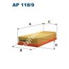 Filtron AP118/9 Filtron levegőszűrő