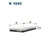 Filtron K1045 Filtron pollenszűrő