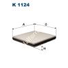 Filtron K1124 Filtron pollenszűrő