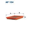 Filtron levegőszűrő AP154 1db