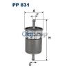 Filtron Üzemanyagszűrő (PP 831)