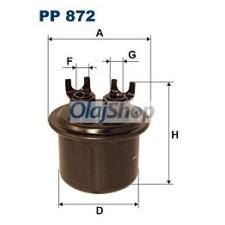 Filtron Üzemanyagszűrő (PP 872) üzemanyagszűrő