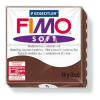 "FIMO Gyurma, 56 g, égethető, FIMO ""Soft"", csokoládé"