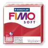 "FIMO Gyurma, 57 g, égethető, FIMO ""Soft"", karácsonyi piros"