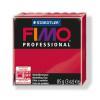 "FIMO Gyurma, 85 g, égethető,  ""Professional"", kármin"