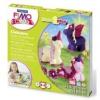 """FIMO Gyurma készlet, 4x42 g, égethető, FIMO \""""Kids Form & Play\"""", egyszarvú"""