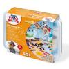FIMO Kids Create & Play Gyurma készlet, 8x42 g, égetheto, kalóz