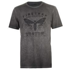 Firetrap férfi póló - Firetrap Graphic T Shirt Mens Moth Logo