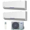 Fisher FS2MIF-181AE2/ 2*FSAIF-PRO-94AE2 Inverteres Dual Oldalfali Split klíma szett