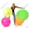 Fitball gimnasztika labda 65 cm NEON NARANCS szín, standard fényes anyagból