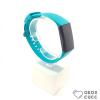 Fitbit Charge 3 cserélhető szilikon szíj - ciánkék - cyan
