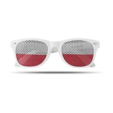 FLAG FUN Napszemüveg mintás lencsével, fehér napszemüveg