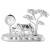 Flair miniatűr elefánt, fa óra