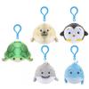 Flair Toys Squeezamals pihe-puha tengeri állatok plüss kulcstartó több változatban