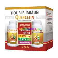 Flavin Double Immun Quercetin C+D vitamin Echinacea 2x120 kapszula - Flavitamin-Flavin7 vitamin és táplálékkiegészítő