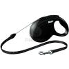 Flexi Classic S kötélpóráz különböző színben, 8 m Fekete