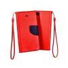 Flexi color book tok - Nokia 6 - piros - sötétkék