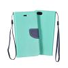 Flexi color book tok - Xiaomi Mi Max - mint - sötétkék