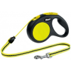 Flexi Neon kötélpóráz - XS, 12 kg-ig, 3 m, sárga-fekete
