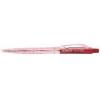 """FLEXOFFICE Golyóstoll, 0,25 mm, nyomógombos, FLEXOFFICE \""""Jonat\"""", piros [36 db]"""