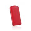Flip szilikon belső Flip tok szilikon belsővel, Huawei P8 Lite, piros