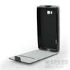 Flip szilikon belső Flip tok szilikon belsővel, Nokia 3, fekete