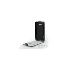Flip szilikon belső Flip tok szilikon belsővel, Nokia 3, fekete tok és táska