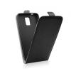 Flip szilikon belső Flip tok szilikon belsővel, Samsung A310 Galaxy A3 (2016), fekete