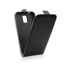 Flip szilikon belső Flip tok szilikon belsővel, Samsung G930 Galaxy S7, fekete tok és táska